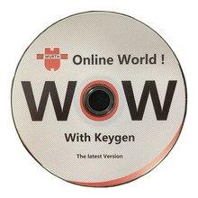 Cd wow wurth v5.0012 v5.00.8 r2 com keygen livre mais novo multilíngue para vd tcs pro delphis ds150e carros e caminhões
