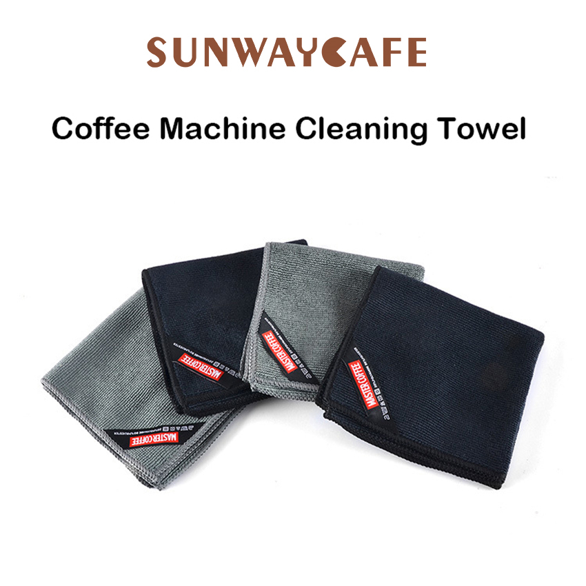 4Pcs Super Absorbent Towel Barista Towel Rag Bar Coffee Machine Cleaning Cloth Tableware Household Cleaning Towel Kichen Tools