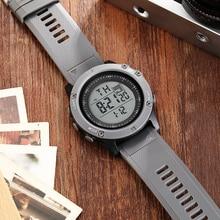 Fashion Digital Men Watch relogio masculino Grey Waterproof