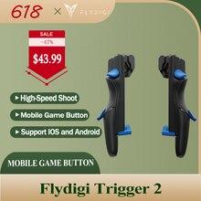 Flydigi Trigger 2 аксессуары для сотовых телефонов, Геймпад контроллер для Android и Ios Cod Mobile Pubg