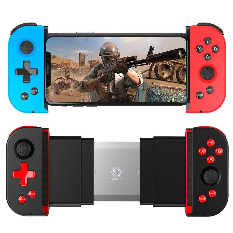 Bluetooth беспроводной телескопическая игровой контроллер беспроводной геймпад джойстик для Мобильный телефон Xiaomi Huawei Samsung Android IOS