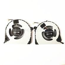 Novo ventilador de cpu & gpu para dell inspiron g7 15-7577 7588 G7-7577 G7-7588 dfs2000054h0t dfs541105fc0t, 0h98ct 02ph36, fjqs fjqt