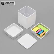 KACO LEMO Desktop Storage Box Note Box Product Box 3 in 1 Assembly Free Simple Design Work for Office Fam