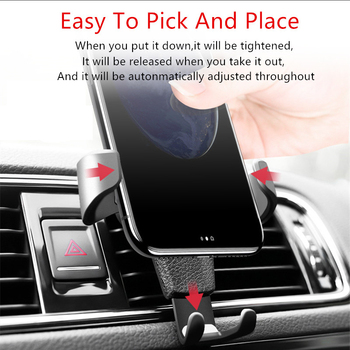 3D Cool Car Gravity Mobile Phone GPS Holder Stand For VW polo passat b5 b6 Mazda 3 6 cx-5 Toyota corolla Ford focus 2 image