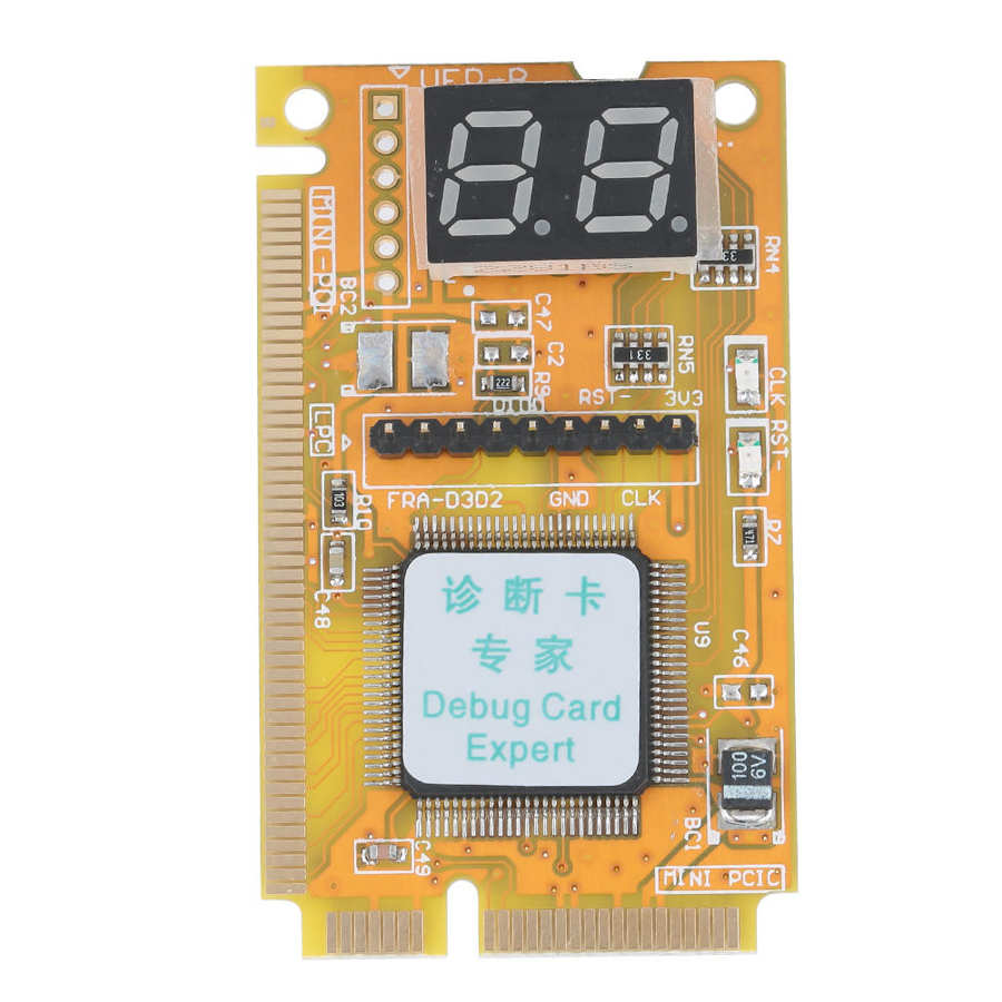 Debug Card ASHATA <font><b>3</b></font> in <font><b>1</b></font> Diagnostic Card Support <font><b>USB</b></font> Laptop Supplies Computer Accessories Support Mini <font><b>PCI</b></font> Mini <font><b>PCI</b></font>-<font><b>E</b></font> LPC Bus image