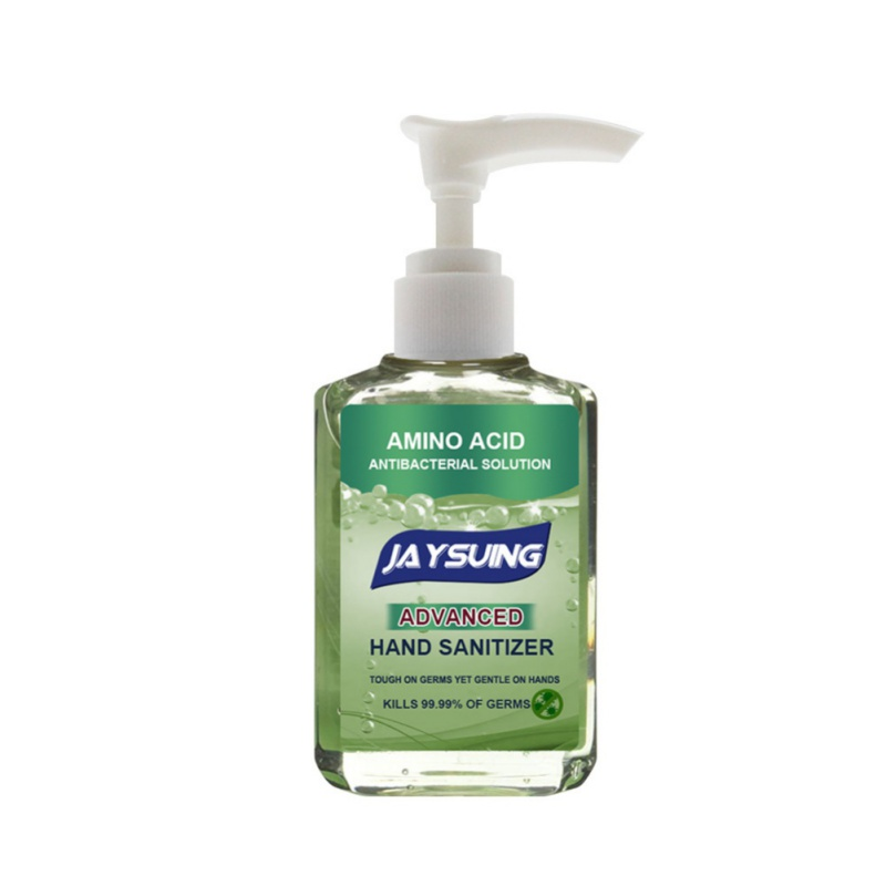 Press Head Portable Disposable Hand Sanitizer Rinse Free Disinfection Hand Wash Gel 30ml/50ml/60ml Household