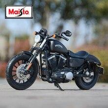 Maisto 1:12 harley davidson 2014 sportster ferro 883 veículos fundidos colecionáveis hobbies modelo de motocicleta brinquedos