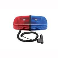 Red Blue 36 LED Warning Lamp Car Truck Light Bar Roof Top Emergency Hazard 12V Oval Flash Strobe 18W beacon Lights