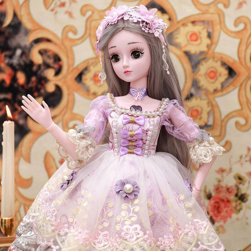 60CM Baby Dolls For Girls Toys Sleeping Accompany Doll Beautiful Lower Price Birthday Christmas Present