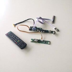 Для LTM200KT03/B ЖК-панель монитор T.V56 плата для карты памяти LVDS 2CCFL 30Pin HDMI VGA USB AV RF клавиатура + пульт дистанционного управления + инвертор DIY kit