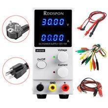 30 v 10A ミニ調整可能な dc 電源 K3010D 4 桁表示スイッチレギュレータ実験室の電源供給電話のラップトップ修理