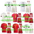Бельгия Одежда высшего качества для взрослых комплект 2020-21 детское футбольное Джерси молодежные Гостевая football рубашка Де Брюйне