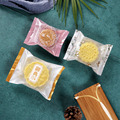 100 шт китайский стиль Матовый Праздник середины осени луна пакет для упаковки пирожных элегантный Праздник Снежинка хрустящий декор сумки