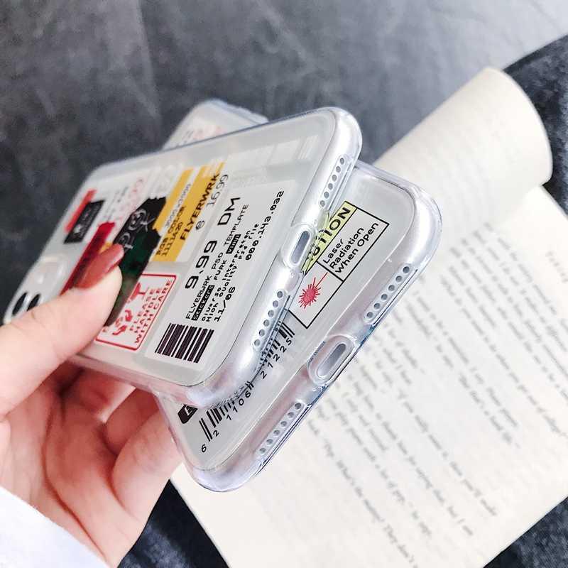 جديد المد العلامة التجارية العلامات لينة سيليكون جراب هاتف ل eتوي Hawei P20 P30 برو لايت الشرف 8X 10 20 ماتي 30 عدم الانزلاق الغطاء الخلفي coque