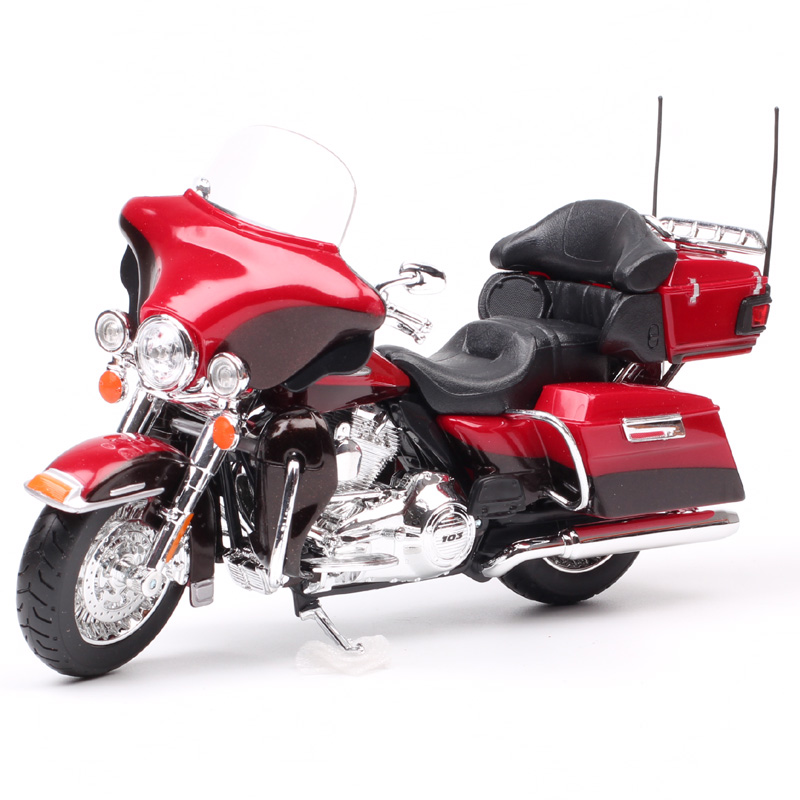 Maisto 1:12 Scale 2013 FLHTK Electra Glide Ultra Limited Tour Motorcycle Diecast Vehicles Cruiser Motorbike Toys Of Collectible