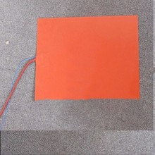 150x150mm 110W 220V grzałka silikonowa gumowa grzałka z termistorem Element grzewczy drukarka 3D do ogrzewania łóżka grzałka silikonowa tanie tanio TherMoElec Włókniny tkaniny 101 W Up 15 Godzin i Up