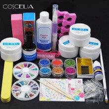 Маникюрный набор инструментов, набор для ногтей, УФ светодиодная лампа, УФ гель для ногтей, кончик для ногтей, инструменты для дизайна, набор для ногтей, набор для строительства геля