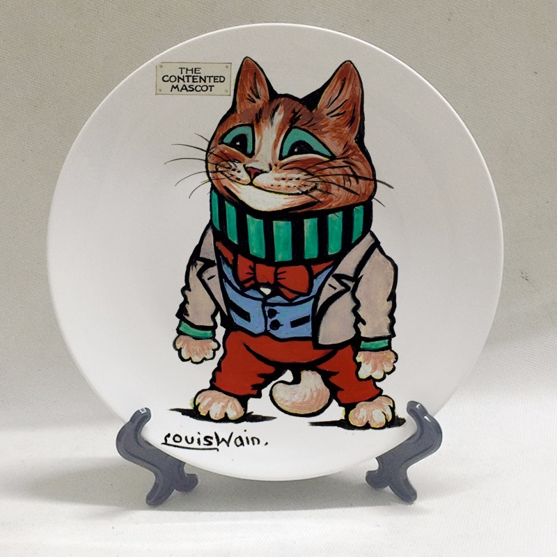 Louis Wain Art Plates