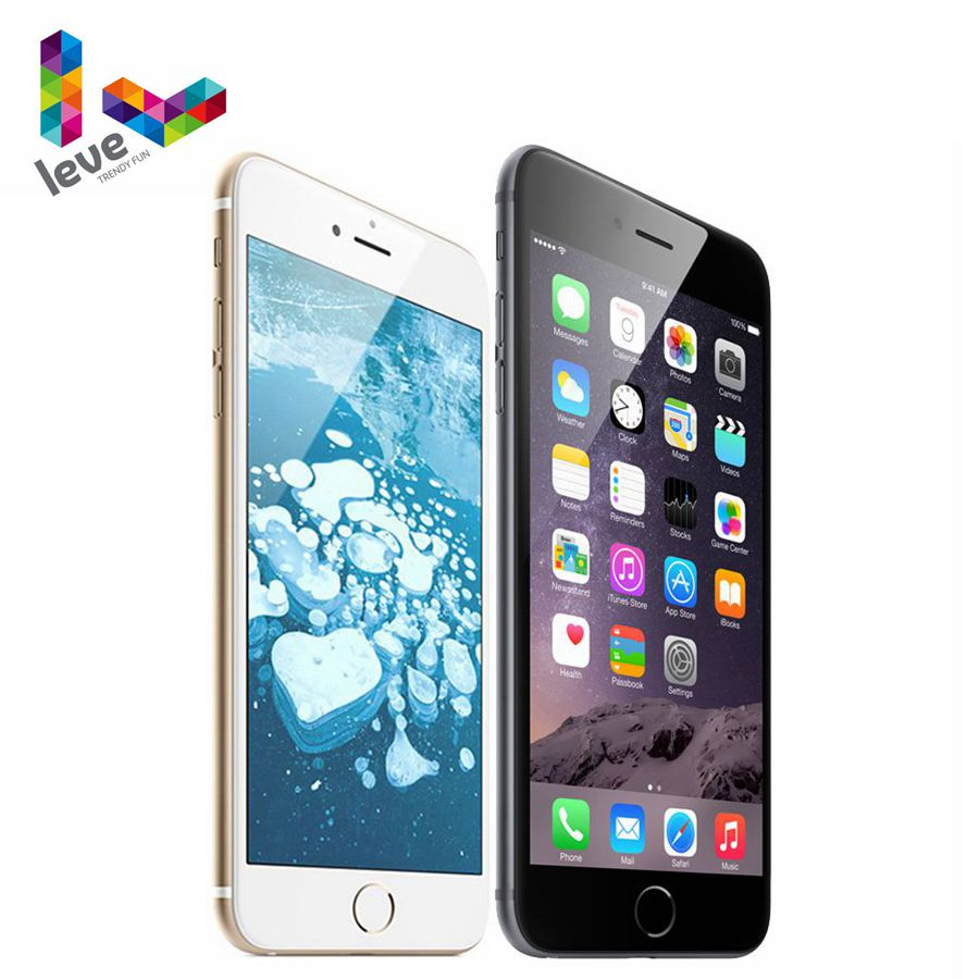 Original Apple iPhone 6 Plus 5.5 Dual Core IOS 4G LTE 8MP 1G RAM 16&64&128GB ROM WIFI Unlocked iPhone 6P Mobile Phone image