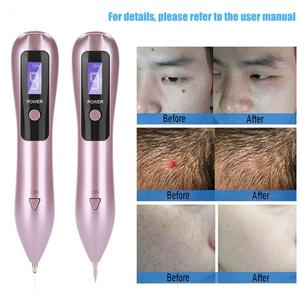Image 1 - 9 level LCD Face Skin Dark Spot Remover Mole Tattoo Removal Laser Plasma Pen Machine Facial Freckle Tag Wart Removal Beauty Care