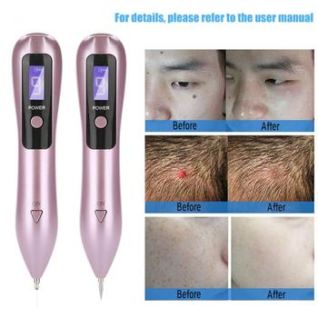 9 level LCD Face Skin Dark Spot Remover Mole Tattoo Removal Laser Plasma Pen Machine Facial Freckle Tag Wart Removal Beauty Care new arrivals electric laser age spot pen mole scars warts freckle tattoo removal machine with lcd display