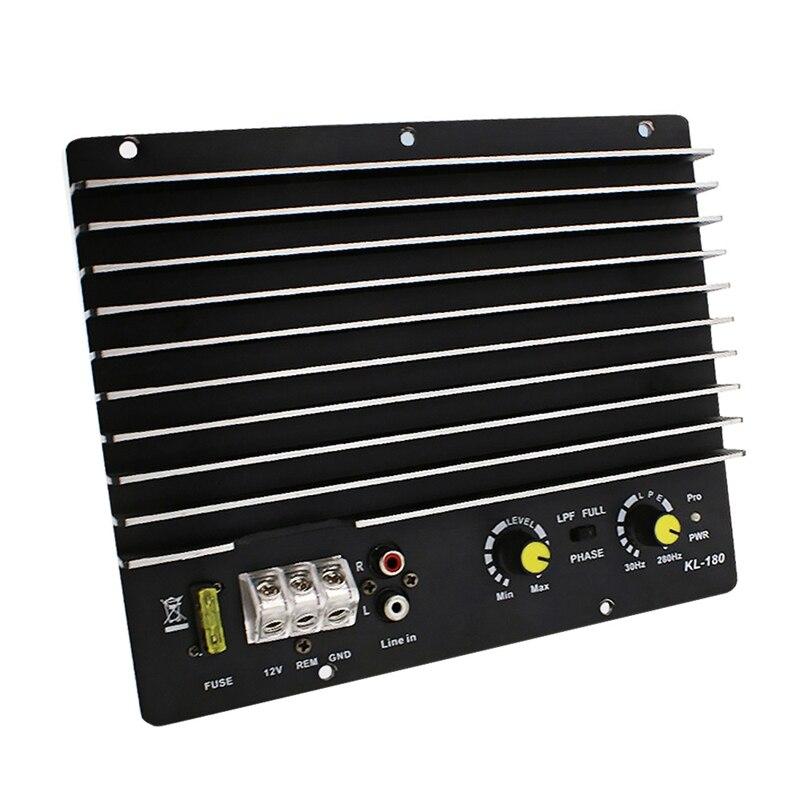 1200W Mobil Audio Power Amplifier Subwoofer Power Amplifier Papan Audio DIY Amplifier Papan Pemain Mobil Kl-180