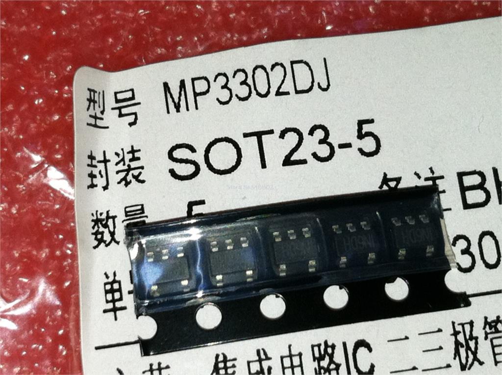 1pcs/lot MP3302DJ-LF-Z MP3302DJ MP3302 IN6D SOT-23-5