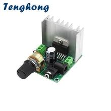 Tenghong placa amplificadora de Audio TDA7297, 15W x 2, Amplificador de sonido estéreo, Clase AB, DC12 18V para cine en casa