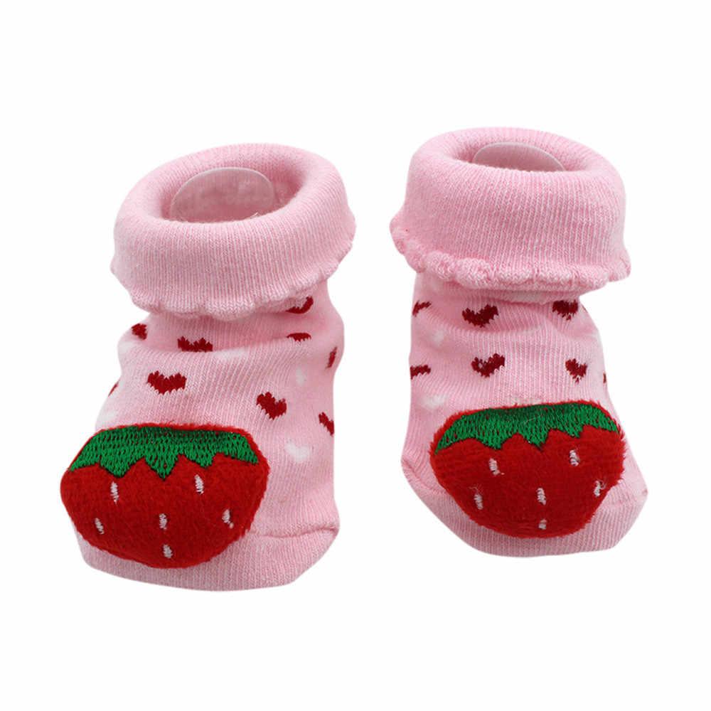 2020 כותנה יילוד תינוקות תינוק בנות בנים חמוד 3D ארנב אנטי להחליק גרבי רצפת נעל Cartoon נעלי מגפי תינוק גרבי פעוט