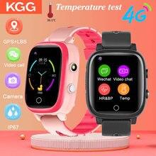 KG50S 4G дети smart watch GPS Wi-Fi положение видео звонок Смарт-часы-телефон IP67 водонепроницаемый SOS детские часы температуру тела.