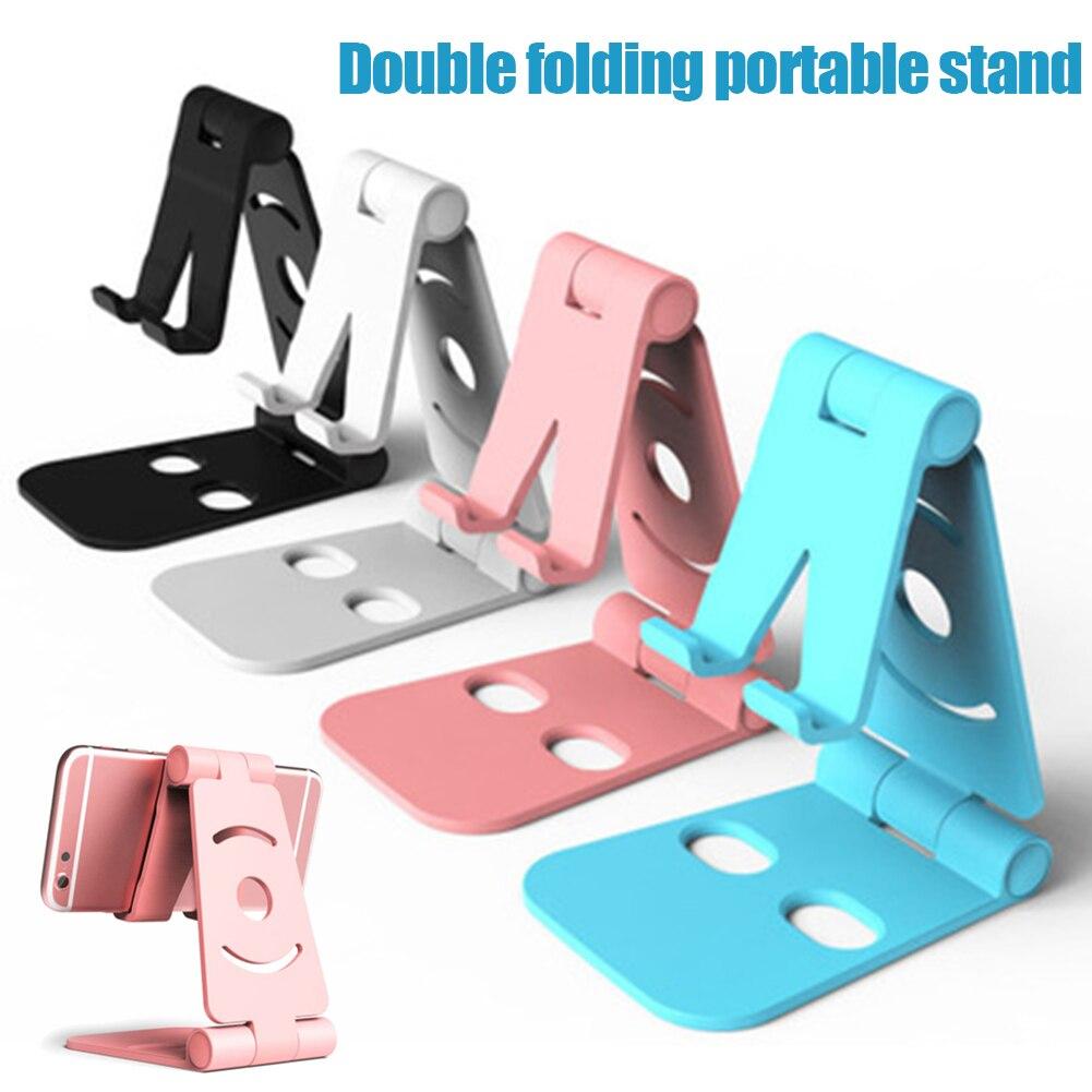 Support de téléphone pivotant Double pliable support de berceau support de téléphone portable universel OCT998