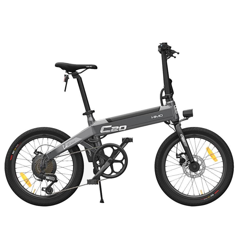 HIMO C20 rower elektryczny składany miejski rower elektryczny 250W silnik 25 km/h 36V ukryta bateria litowa Ebike maksymalny zasięg 40-80KM
