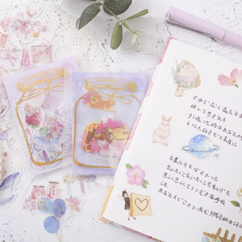 coração adesivos de vedação etiqueta do diário