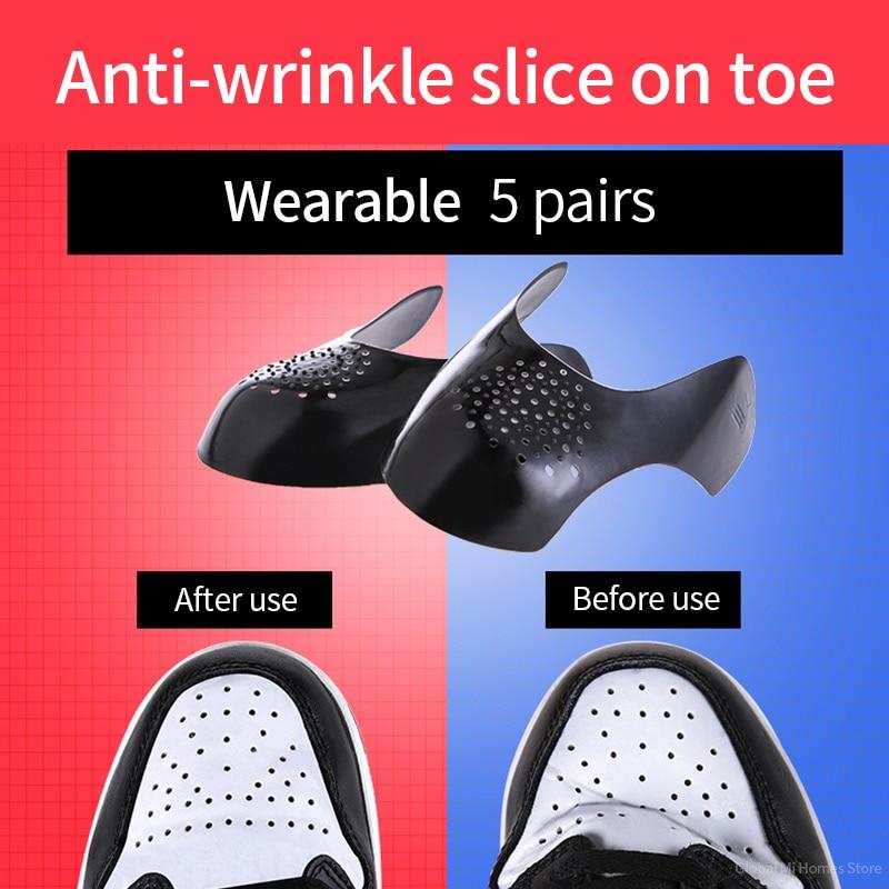 AJ1 protezione per scarpe punta antirughe e piega AF1 Air Force No ...