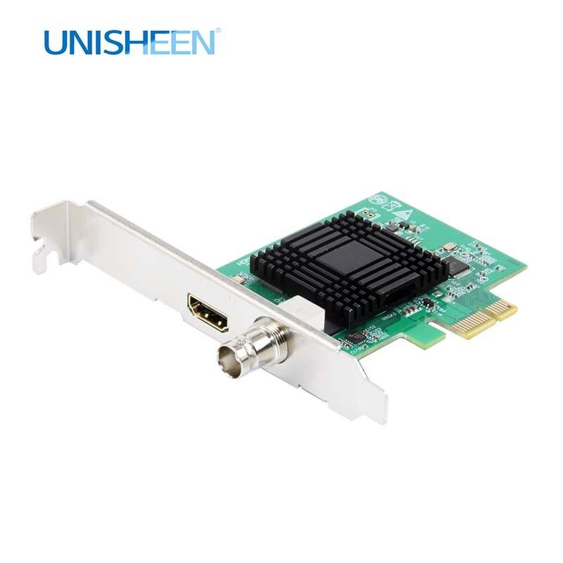 Карта видеозахвата PCIe 60FPS HDMI SDI видеозапись карта игра потоковая прямая трансляция 1080P VMix беспроводной OBS Xsplit