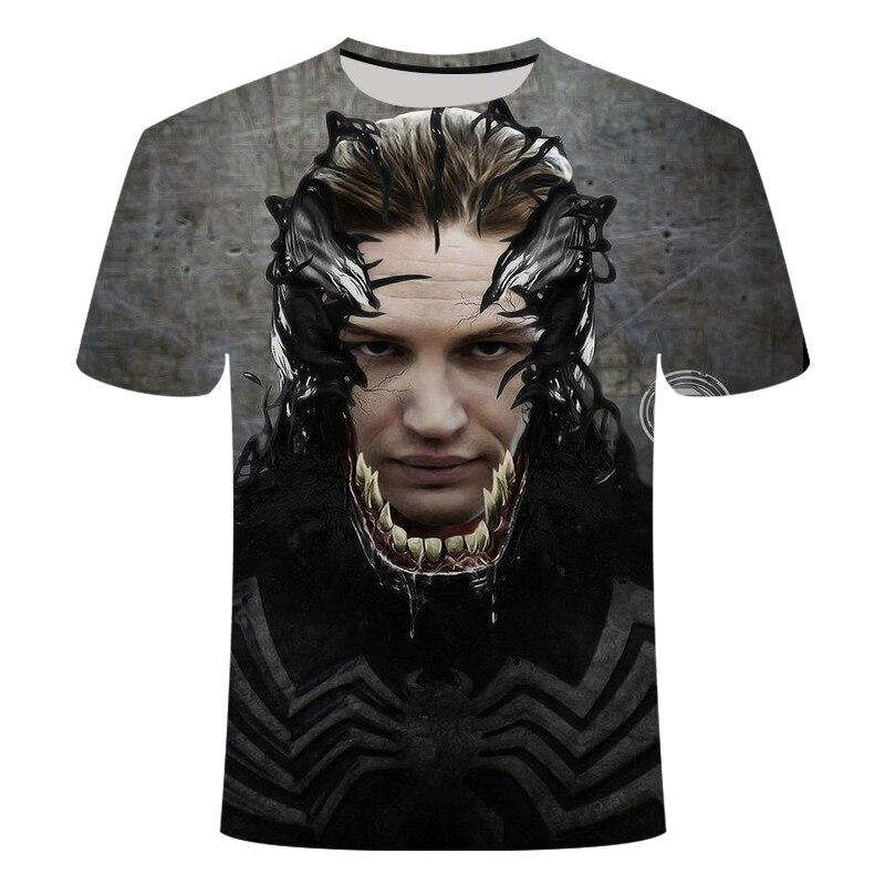 "Новинка, Мужская Футболка Venom, футболка ""Марвел"", 3D принт, футболка s, мужская, женская, Повседневная футболка, футболка для фитнеса, футболки, топы - Цвет: TX-160"