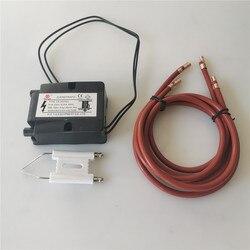 Ceramiczna elektroda zapłonowa  zapalnik impulsowy wysokiego napięcia palnika paliwowego  ceramiczna igła zapłonowa palnik na olej przepracowany  zapalnik  świeca zapłonowa