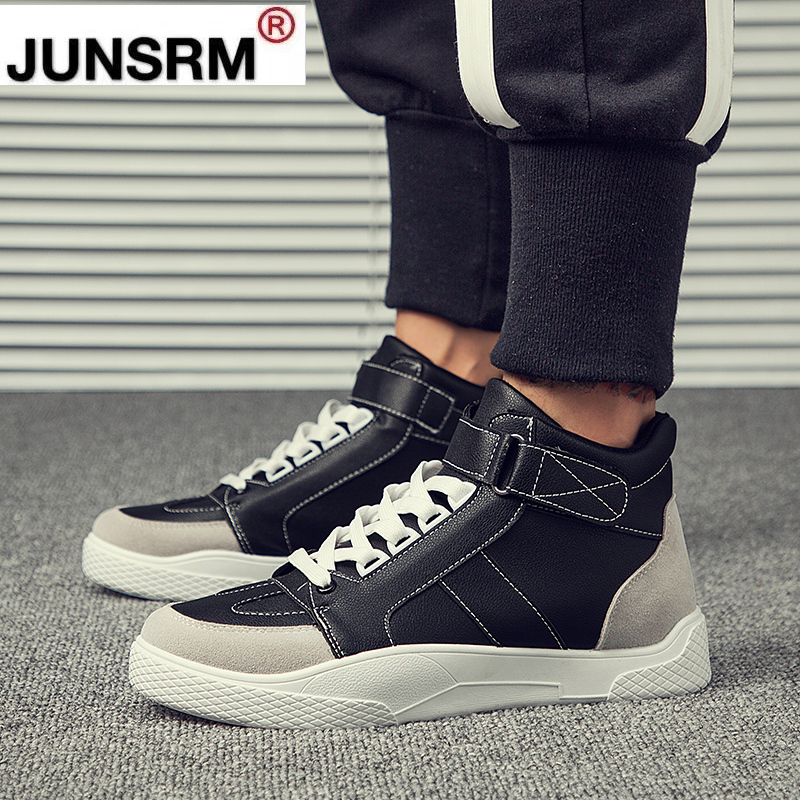 Hot Men Boots Fashion Male Shoes Autumn Winter Footwear for Man New High Top Casual Sneakers Adult