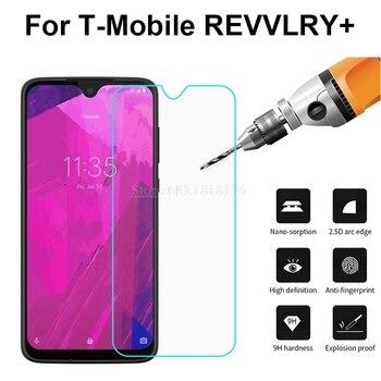Перейти на Алиэкспресс и купить Закаленное стекло для T-Mobile REVVLRY Plus, Защитная пленка для экрана 9 H, чехол для T-Mobile REVVLRY Plus 6,24