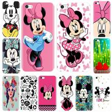 Back Cover For iPhone 5 S 5C 5S SE Soft Silicone Mickey Minnie Patterned Phone Case For iPhone 4 S 4S Case(China)
