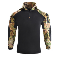 Tactical Hunting Combat Outdoor Tactical Wearing Hoodie Military Army Rapid Assault Camp Camouflage Long Sleeve Multicam Shirt