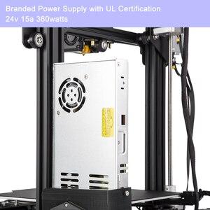Image 5 - CREALITY Ender 3 3D Pro para impresora, mascarillas de impresión, placa de construcción magnética, KIT de impresión de fallo de energía, fuente de alimentación Mean Well