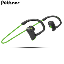 Pottnar Athlete Waterproof Running Sports Wireless Headphones Bluetooth Earphones Headset Head Ear Phones with Handsfree Mic pottnar athlete waterproof running sports wireless headphones bluetooth earphones headset head ear phones with handsfree mic