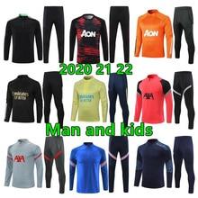 2020 2021 men and kids tracksuit Survetement Chandal 20 21 Football tracksuit training wear custom football kit jogging