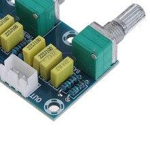 HIFI amplifikatör pasif ton kurulu tiz bas ses kontrolü Preamp kurulu NC99