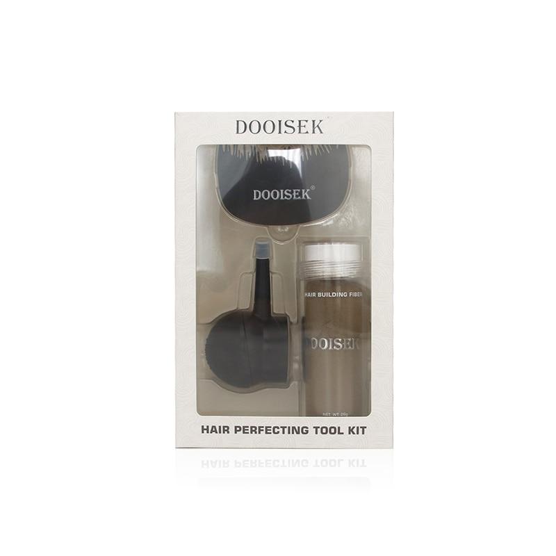 DOOISEK Hair Building Fibers Spray Kit/Set Package ,Incluing Spray Applicator/Hairline Optimizer /Hair Building Fiber(0.97oz)