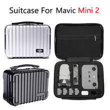 Drone Carrying Case Portable Travel Bag ABS Waterproof Hard Shell Storage Box for DJI Mavic Mini 2 Accessories Large Suitcase