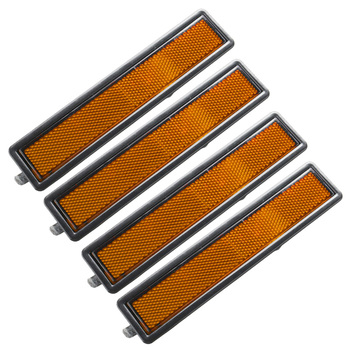 New Right and Left Signal light amber For BMW E30 E32 E34 3 Series L or R Replacement Rear Bumper Side Marker Light image