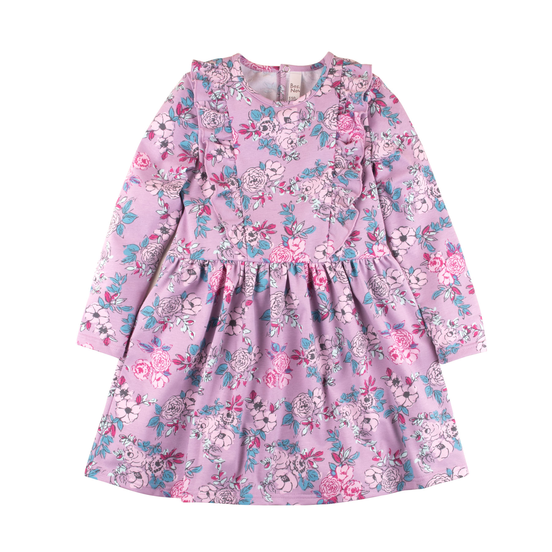 Dresses BOSSA NOVA 148M-187c Maya baby dress for a girl tunic clothes clothing Cotton
