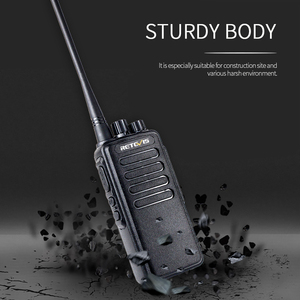 Image 4 - 10W Powerful Walkie Talkie Retevis RT1 VHF (or UHF) VOX 3000mAh Long Range Two way Radio For Factory Warehouse Farm Security
